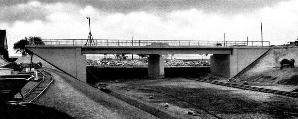 Строительство Автобана Берлин-Кенигсберг в Польше 30-е годы